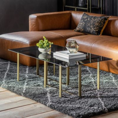 Hudson Living Thornton Coffee Table Bronze