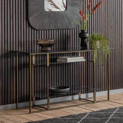 Hudson Living Thornton Console Table Bronze
