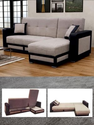 Tina Corner Sofa Bed