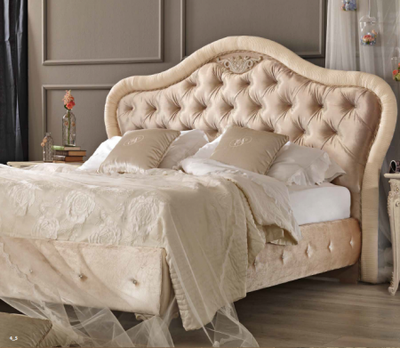 Saltarelli Alba Ottoman Upholstered Bed Sides and Headboard