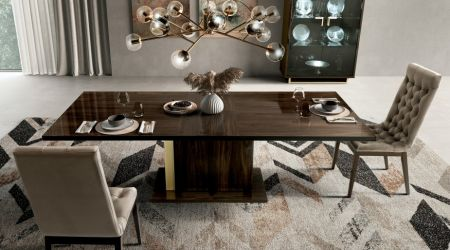 Camel Group Volare Walnut Dining Table