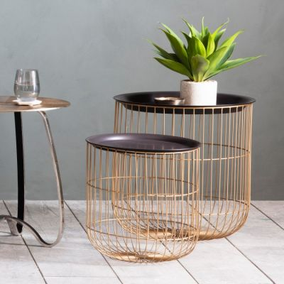 Hudson Living Woburn Nest Of 2 Side Tables